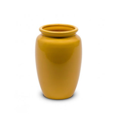 Bauer Pottery Fred Johnson #213 Vase in Yellow - Blue Springs Home