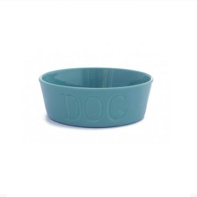 Bauer Pottery Small Dog Bowl  Bauer Pottery Blue Springs Home- bluespringshome