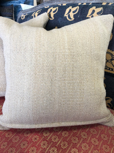 Makun Patch Wool Pillow Cover