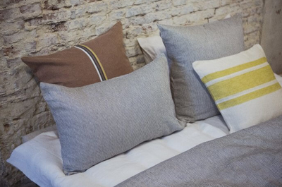 The Workshop Stripe Pillow Sham by Libeco