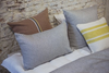 The Workshop Stripe Pillow Case by Libeco