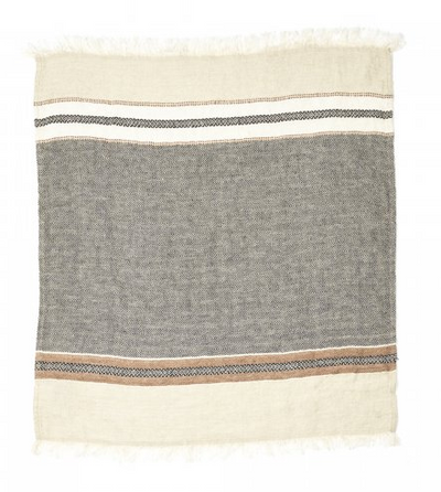 Belgian Fouta Stripe Towels by Libeco