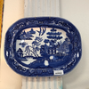 Blue Willow Ironstone Platter