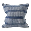 "Walter G DASH DOT INDIGO LINEN CUSHION 20""  Walter G Blue Springs Home- bluespringshome"