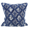 "Walter G HAVANA INDIGO LINEN CUSHION 20""  Walter G Blue Springs Home- bluespringshome"