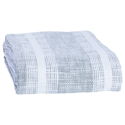 John Robshaw Niccan Gray Blanket and Throw - Blue Springs Home