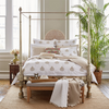 John Robshaw Vivada Sand Woven Coverlet Set  John Robshaw Blue Springs Home- bluespringshome