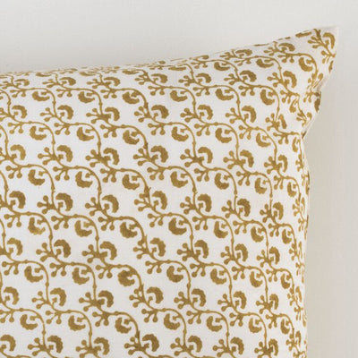 Les Indiennes Lattice Gold Pillowcovers, Pair  Les Indiennes bluespringshome- bluespringshome