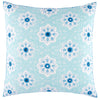 John Robshaw Jadi Euro Pillow  John Robshaw Blue Springs Home- bluespringshome