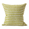 "Walter G PYRAMIDS PISTA LINEN CUSHION 20""  Walter G Blue Springs Home- bluespringshome"