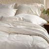 SDH Fine Linens Purist Organic Flannel Sheets and Pillowcases - Blue Springs Home