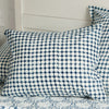 Les Indiennes Tania Dot Indigo Standard Pillowcase Pair - Blue Springs Home