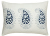 Les Indiennes Marie Indigo Pillowcovers - Blue Springs Home