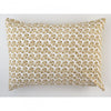 Les Indiennes Lattice Gold Pillowcovers, Pair - Blue Springs Home