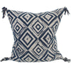 "Walter G SWAZI INDIGO COTTON CUSHION 22""  Walter G Blue Springs Home- bluespringshome"