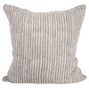 "Walter G Ticking mud LINEN CUSHION 24""  Walter G Blue Springs Home- bluespringshome"