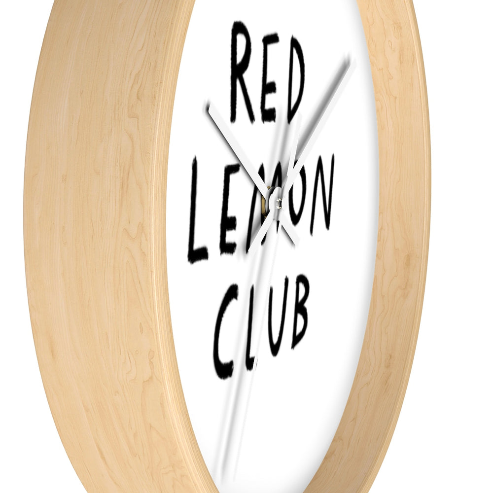 Hand Drawn RLC Logo Wall clock
