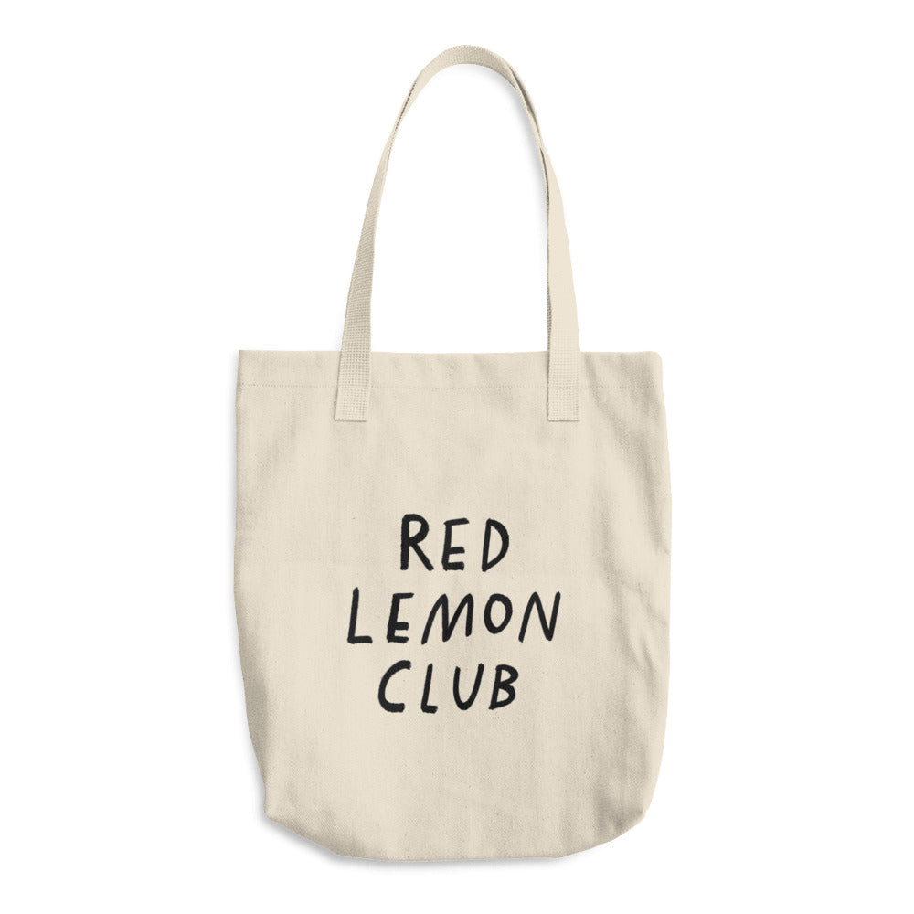 Cotton Tote Bag with Black RLC logo