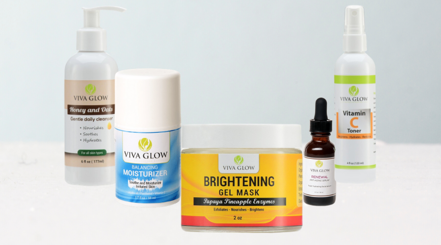 Viva Glow Skincare Products