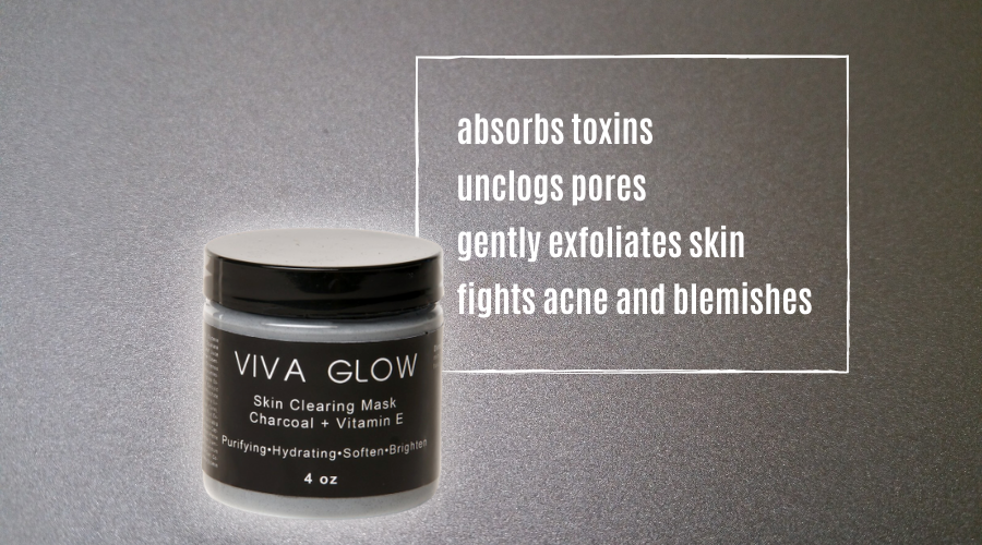 Viva Glow Charcoal Clearing Mask