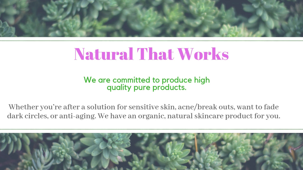 Organic skincare and cosmetic beauty online store