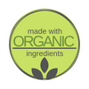 MADE WITH ORGANIC INGREDIENTS LOGO