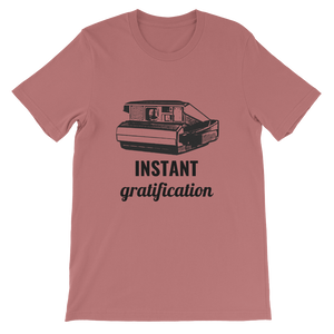Instant Camera Instant Gratification