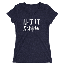Let It Snow - Ladies' Scoop Neck