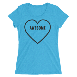 Awesome (Customizable) - Ladies' Scoop Neck