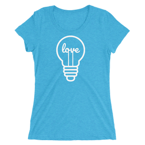 Love in a Light Bulb - Ladies' Scoop Neck