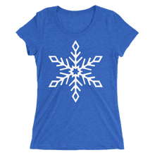 Snowflake - Ladies' Scoop Neck