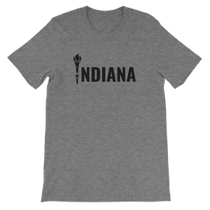 Indiana - Flag Torch