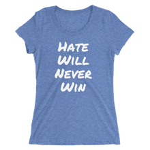 Hate Will Never Win - Scoop Neck