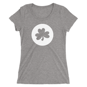 Shamrock Cutout - Ladies' Scoop Neck