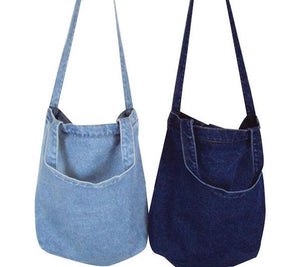 Dream Denim Tote Bag
