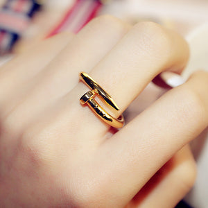 Steel Nail Wrapped Ring