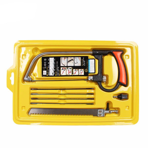 Multi Purpose Hand Saw Kit With 6 Blades