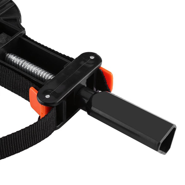 Band Strap Clamp for Woodworking - 90° Corner Adjustable Tool Belt Clamp