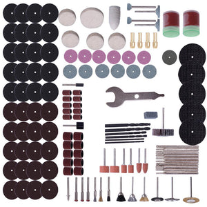147 Items Rotary Tool Accessory Kit for Dremel Electric Grinder