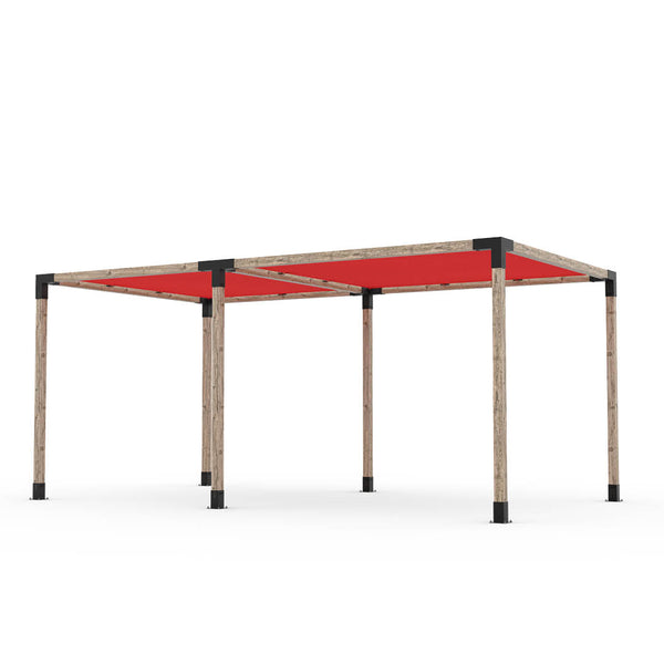 Toja Grid Double Pergola _10x18_crimson