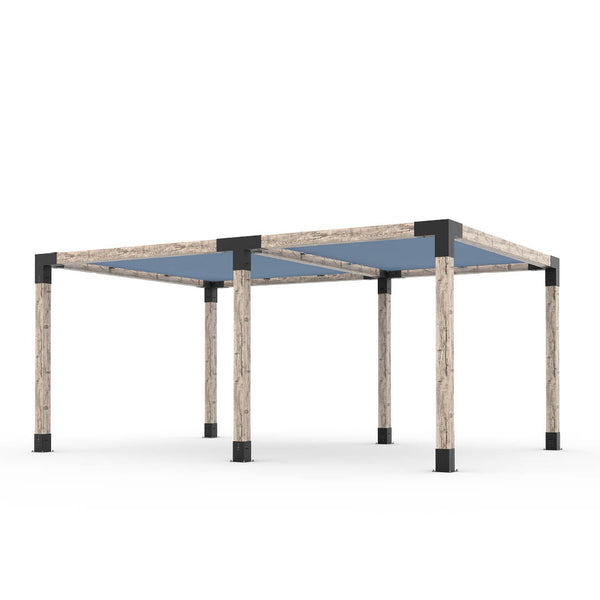 Toja Grid Double Pergola _12x18_denim