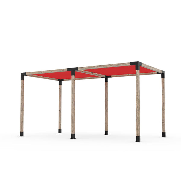 Toja Grid Double Pergola _8x16_crimson