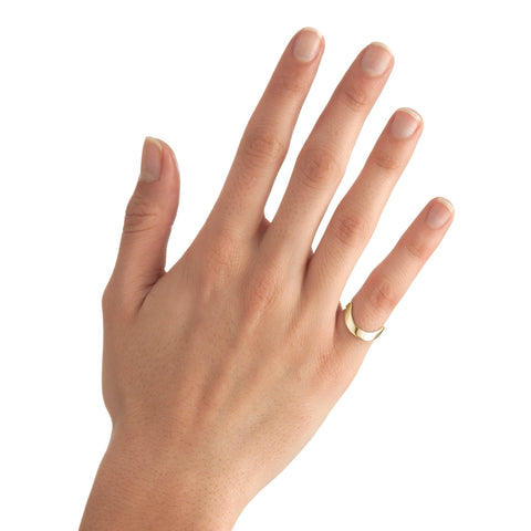 Large Round Stackable Midi Ring
