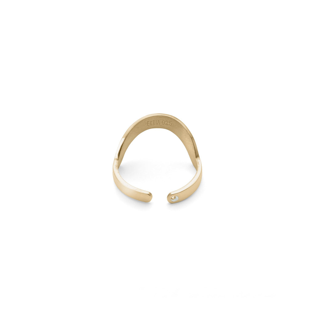 Ring - Large Round Stackable Midi Ring