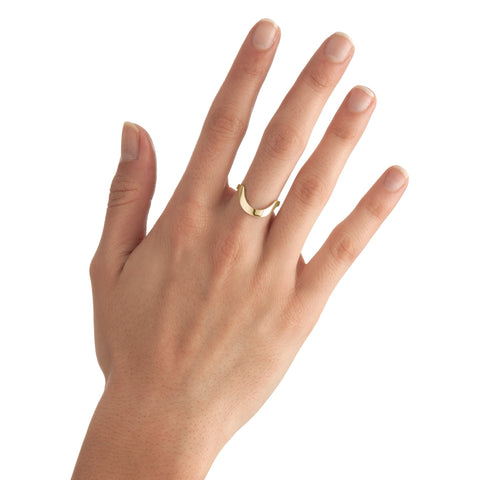 Large Round Stackable Ring