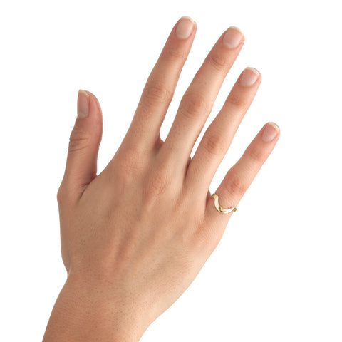 Small Round Stackable Midi Ring