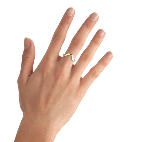 Small Round Stackable Ring