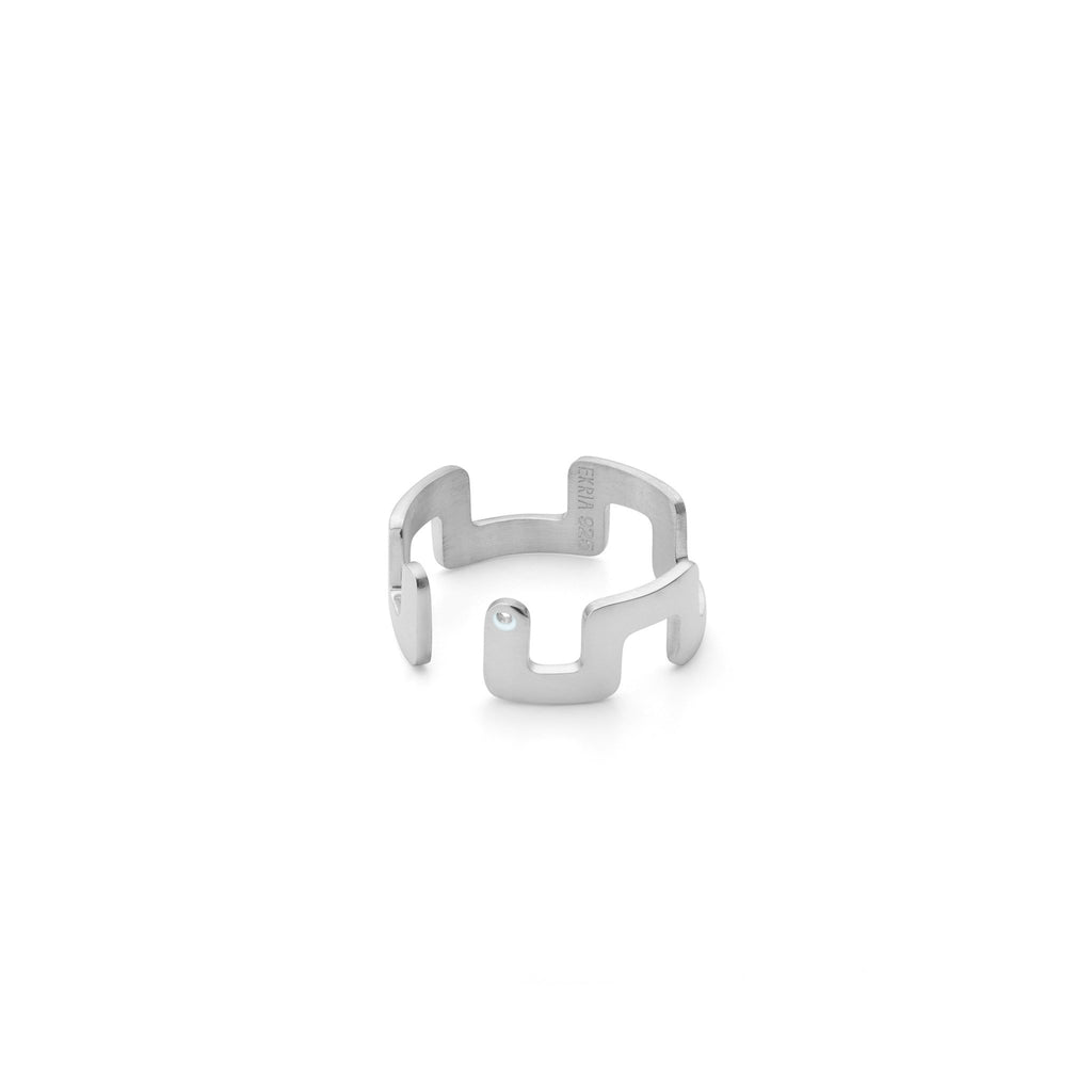 Ring - Small Square Stackable Midi Ring