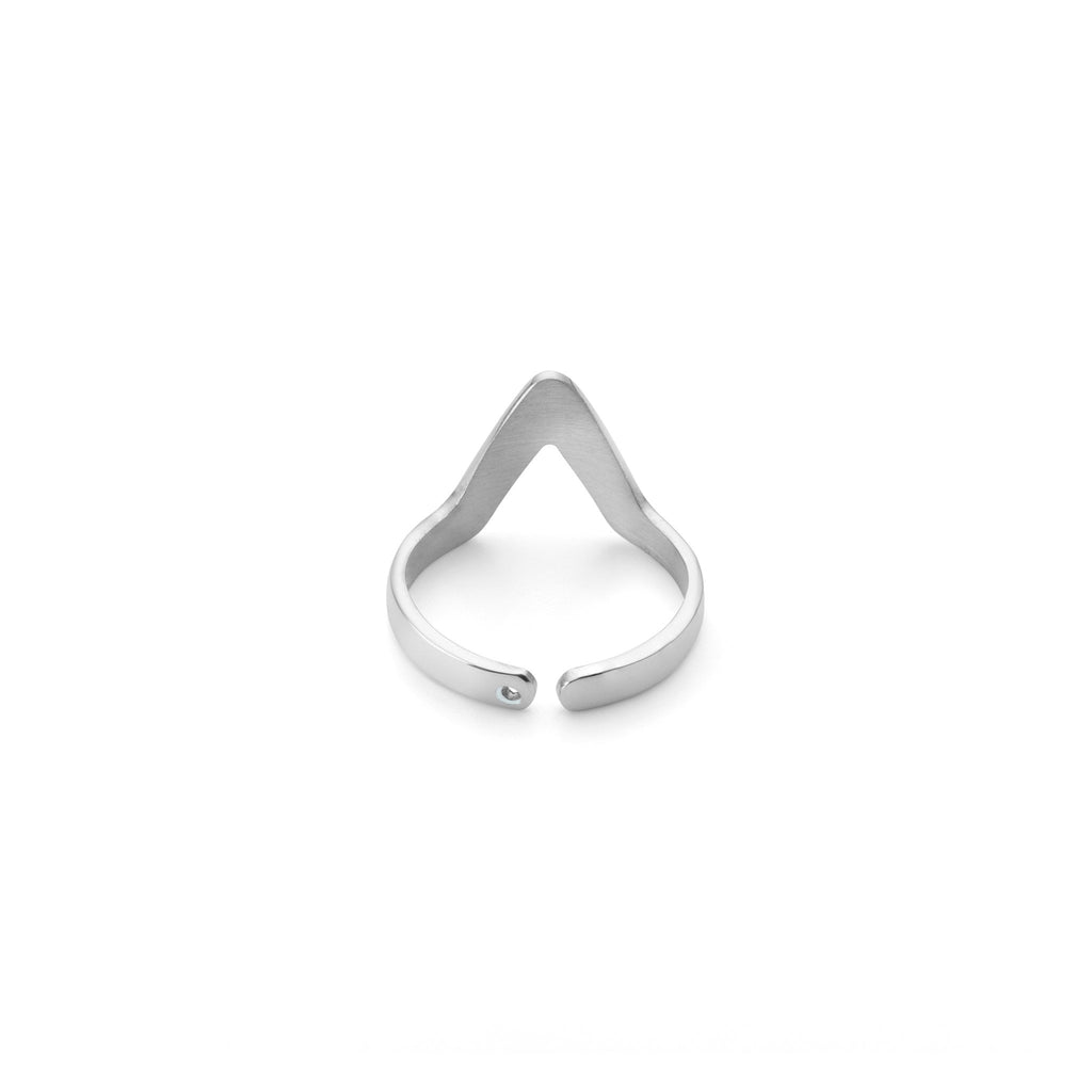 Ring - Small Triangle Stackable Midi Ring