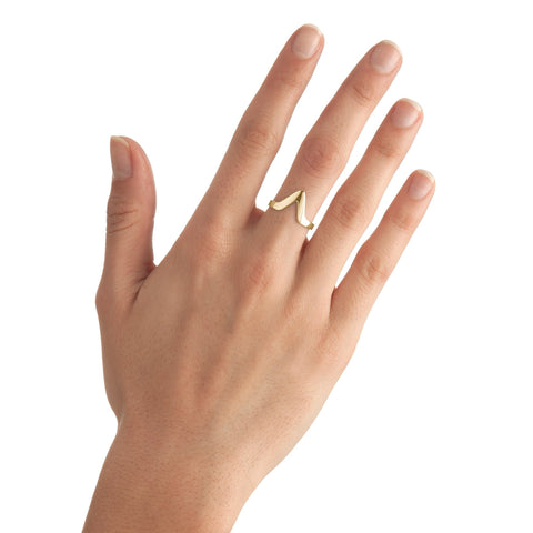 Small Triangle Stackable Ring